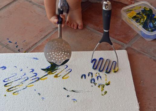 18 أداة رسم بديلة للفرشاة و ممتعة لأطفال الرياض - تعليم جديد