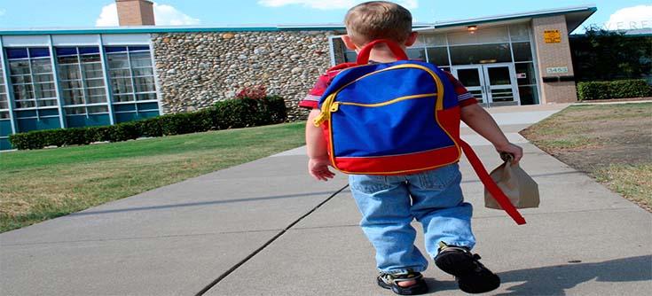 اليوم الأول في المدرسة