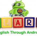تطبيقات أندرويد لتعلم اللغة الإنجليزية