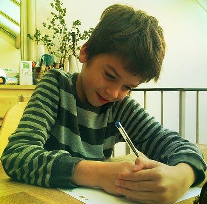 handwriting-child