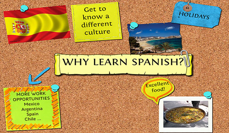 تعلم اللغة الاسبانية