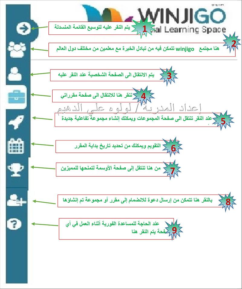 وينجي جو winjigo اكبر منصة تعليمية للمعلم والطالب وتدعم اللغة العربية Winjigo-5