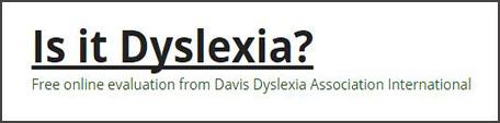 تشخيص الديسلكسيا