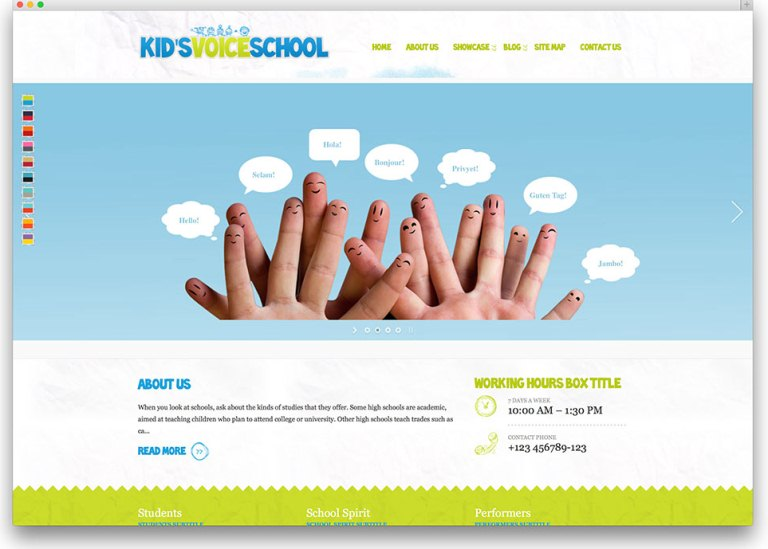 Kid's Voice School