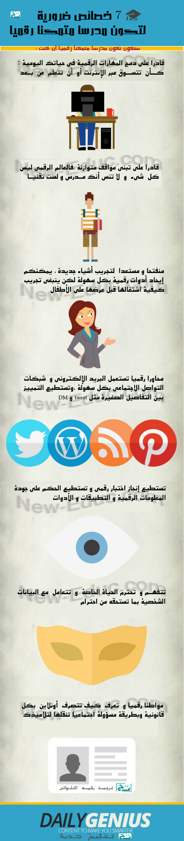 digital-teacher مدرسا متمكنا رقميا
