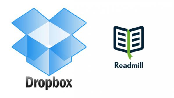 """خدمة """"دروب بوكس"""" تستحوذ على تطبيق قراءة الكتب الإلكترونية Readmill"""