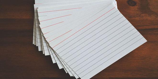 Flash Cards لتشخيص التصورات البديلة لدى المتعلمين