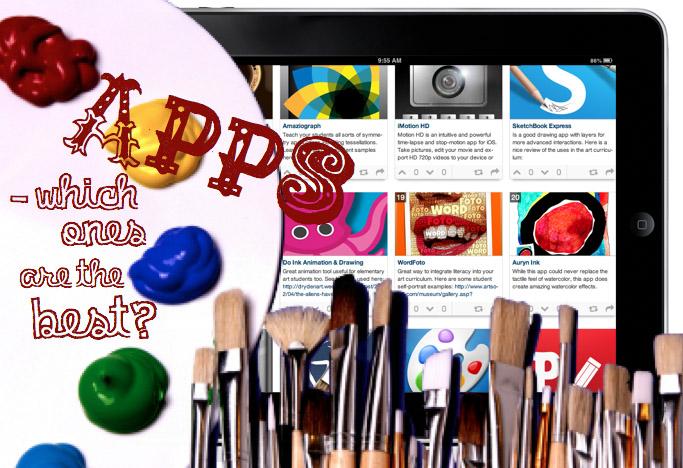 تطبيقات أيباد لمدرسي الفنون