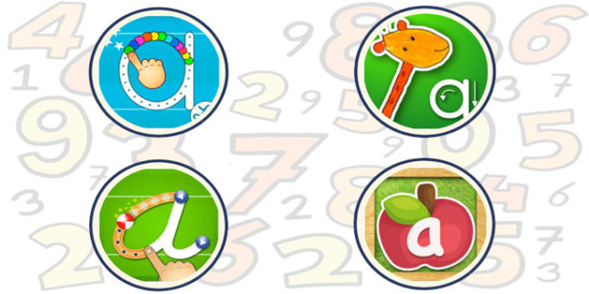 تعلم أرقام و حروف اللغة الإنجليزية