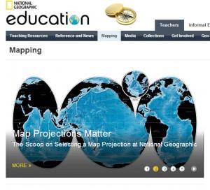 المواقع الإلكترونية للموارد الرقمية natGeo