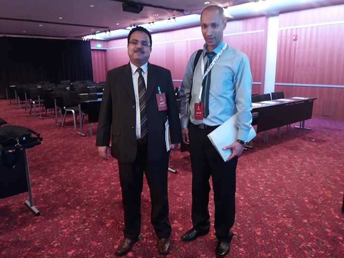 مع د. محمد محمد يونس علي مدير البحوث والدراسات بالمنظمة