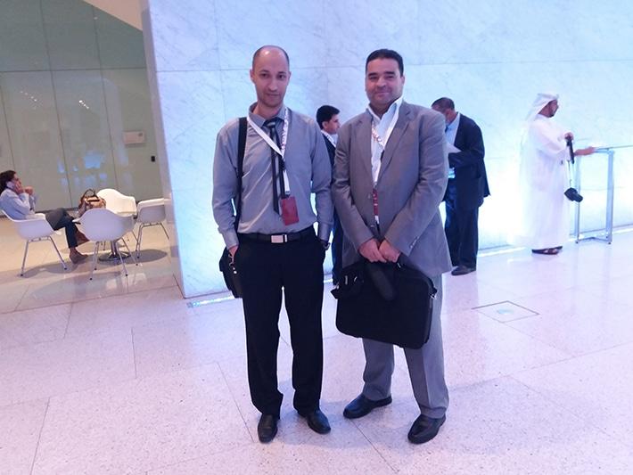 مع الدكتور بشير وسلاتي من مركز التميز للتطوير التربوي تونس