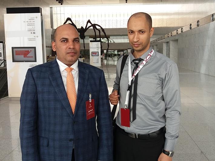 مع الدكتور عمرو جمعة مدير المشاريع بالمنظمة العالمية للنهوض باللغة العربية