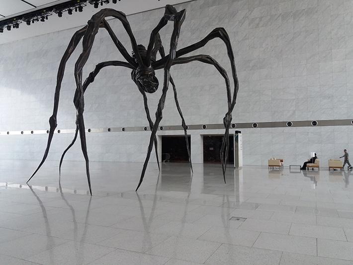 العنكبوت مامان أيقونة مركز قطر الوطني للمؤتمرات