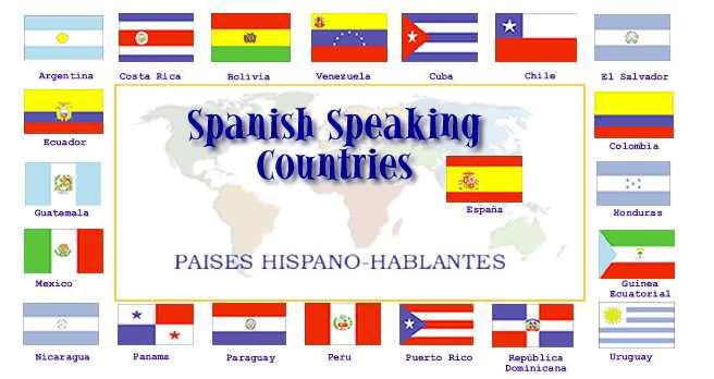 الدول الناطقة بالاسبانية
