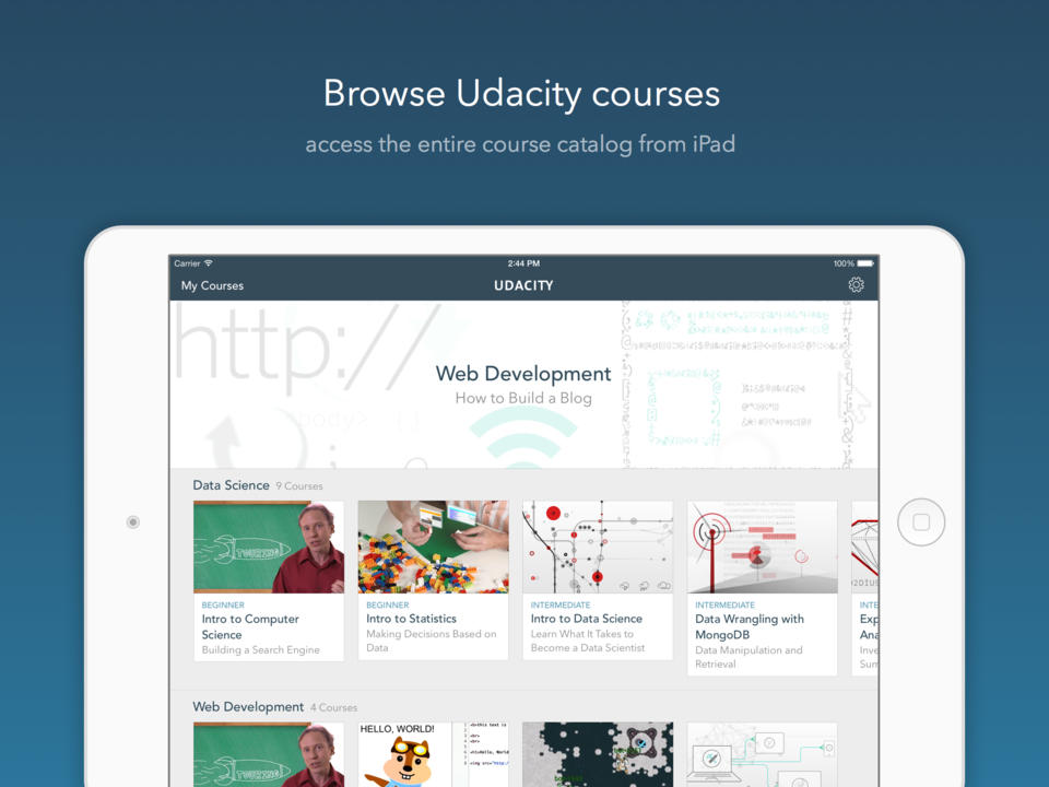 udaciity apps for iphone