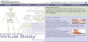محاكاة تشريح جسم الإنسان